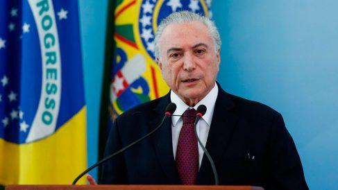 El presidente brasileño Michel Temer. Foto: Europa Press