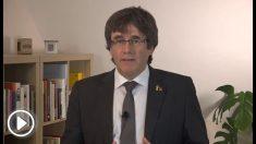 Carles Puigdemont, expresidente de la Generalitat fugado en Waterloo (Bélgica).