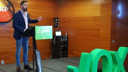Santiago Abascal (RRSS).