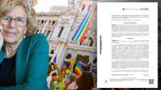 Carmena admite que el Ayuntamiento de Madrid segrega por sexos los datos para la gestión de los servicios públicos del Ayuntamiento