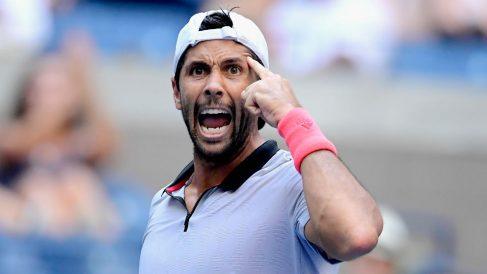 Fernando Verdasco celebra su victoria ante Murray. (AFP)
