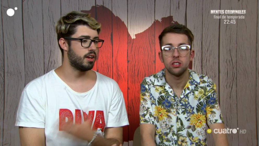 Fresno y Antonio en 'First Dates'