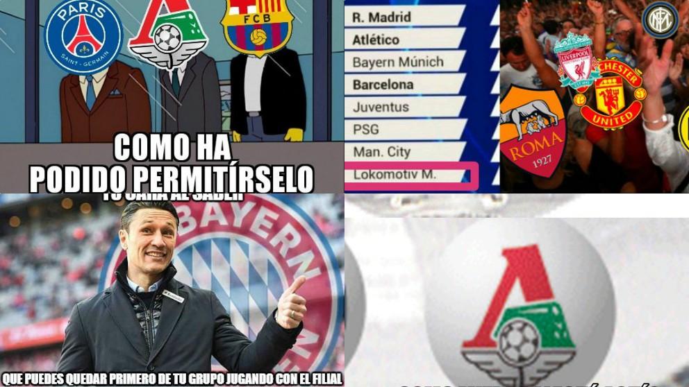 Los mejores memes del sorteo de la Champions League 2018.