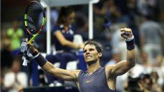Nadal ya está en la tercera ronda del US Open. (AFP)