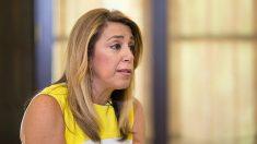 Susana Díaz, presidenta de la Junta de Andalucía. (EP)