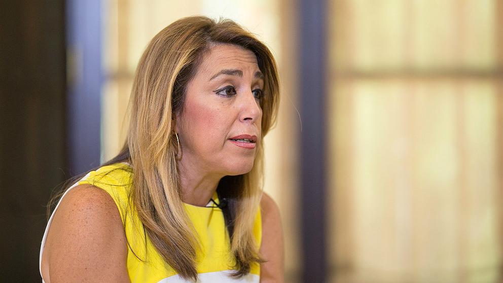 Susana Díaz, secretaria general del PSOE andaluz.