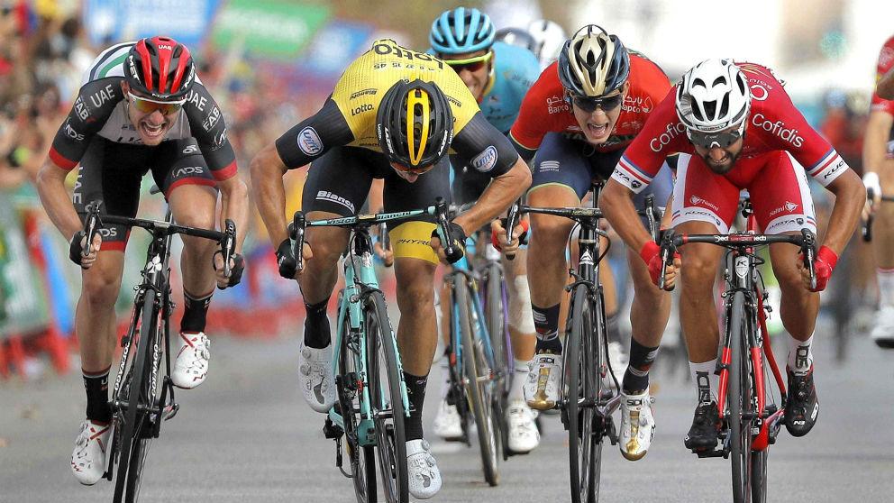Clasificación tras la etapa 6 de la Vuelta a España 2018. (EFE)