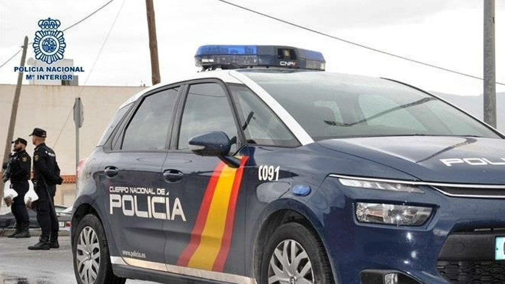 Un coche de la Policía Nacional (EP).