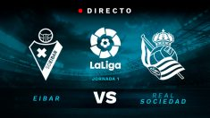 Liga Santander: Eibar – Real Sociedad | Partido de fútbol hoy en directo