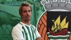 Fabio Coentrao, con la camiseta del Río Ave.
