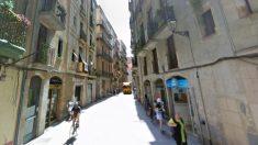 Una calle del barrio de Santa Catalina de Barcelona, en el que vive el agresor.