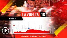 Así será la octava etapa de la Vuelta a España.