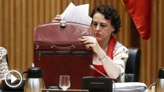 Magdalena Valerio, ministra de Trabajo, Migraciones y Seguridad Social. (Foto: EFE)