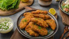 Receta de milanesas de pollo rellenas, una delicia fácil de preparar