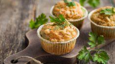 Receta de muffins de huevo rellenos, muy fáciles de preparar