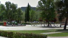 Parque Magallanes, en Alcalá de Henares (Madrid), donde se produjo el suceso. (EP)