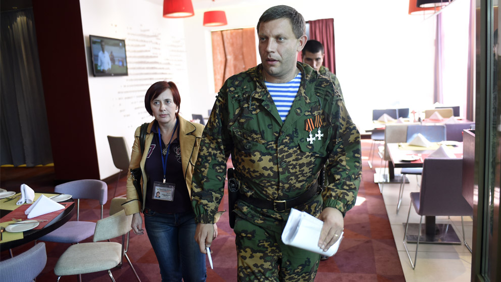 Alexander Zajarchenko (Foto: AFP)