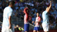 El Atlético cayó ante el Celta (2-0). (AFP)