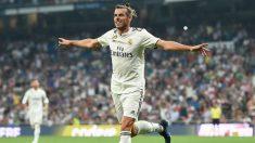 Bale anotó el primer gol del Real Madrid contra el Leganés. (Getty)