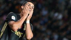 Cristiano se lamenta tras fallar una ocasión ante el Parma. (AFP)