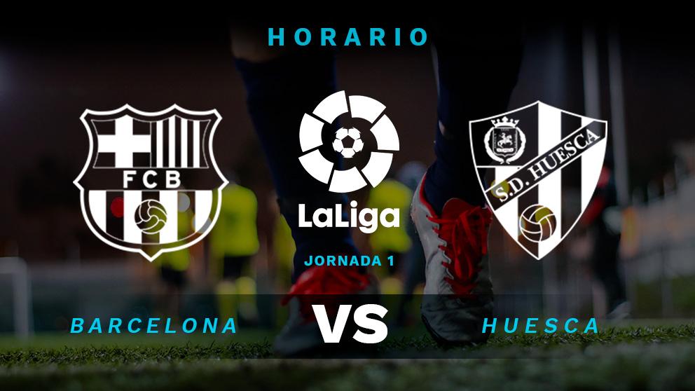 Barcelona huesca horario y d nde ver el partido de la for Horario oficinas banco santander barcelona
