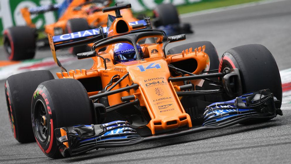 Fernando Alonso. (AFP)