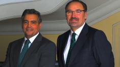 El responsable de Banca Corporativa de Banca March, José Manuel Arcenegui, y el responsable de Mercado de Capitales, Luis Ordóñez.