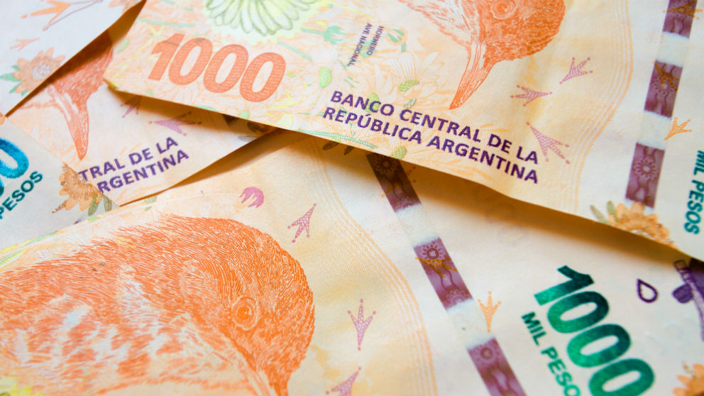 Peso argentino (Foto: iStock)