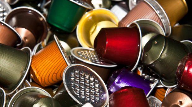 Usos decorativos de las capsulas del café