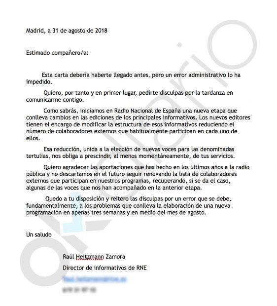 """La nueva Radio Nacional de Podemos purga a 30 tertulianos """"porque no encajan en la nueva estructura"""""""