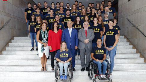 El COE va a impulsar un proyecto histórico junto a UCAM. (Nacho Casares)