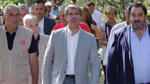 El presidente Ángel Garrido