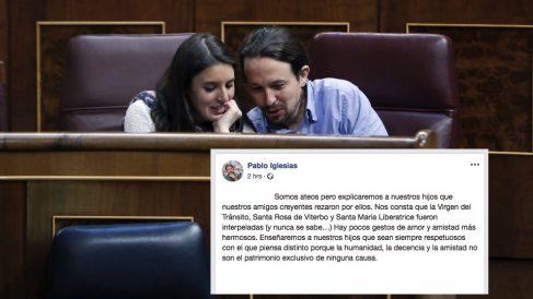 Iglesias y Montero en el Congreso