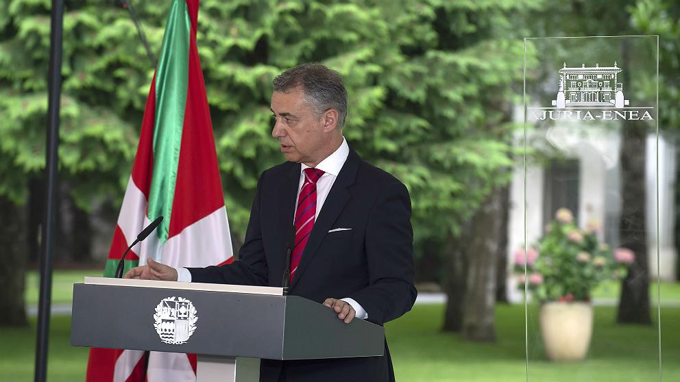 Iñigo Urkullu, lehendakari del Gobierno vasco. Foto: EP