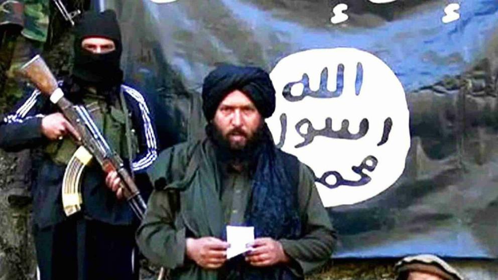 El líder del ISIS en Afganistán, Abú Saad Orakzai.