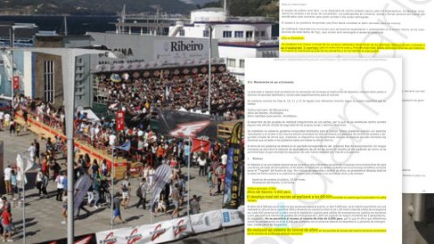 El Plan de Seguridad visado por el ayuntamiento de Vigo  establecía un aforo que no se controló