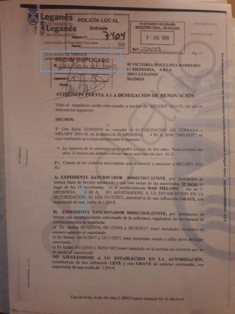 Un edil del PSOE de Leganés vuelve a usar el cargo para intentar librar a su mujer de una multa