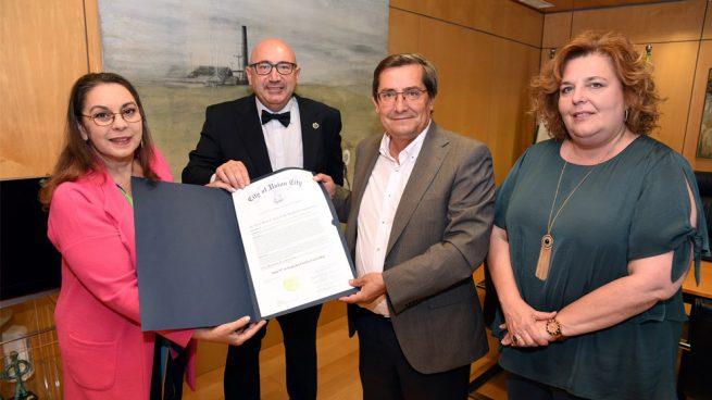 La capital del estado de New Jersey en Estados Unidos proclama el 5 de junio Día de Lorca