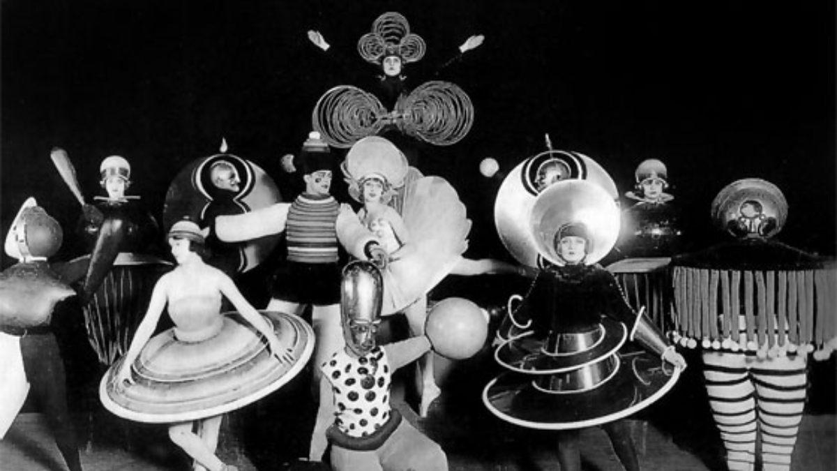 'Ballet Triádico' de Oskar Schlemmer