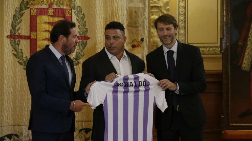 Ronaldo Nazario, nuevo máximo accionista del Valladolid. (realvalladolid.es)