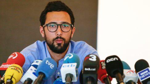 Josep Miguel Arenas, conocido artísticamente como Valtonyc. (Foto: AFP)