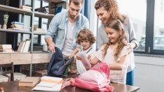 Descubre aquí las claves para ayudar los niños con la vuelta al colegio