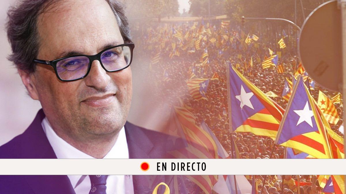 Quim Torra, Carles Puigdemont y la última hora de Cataluña, en directo