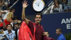 Federer dijo adiós al US Open en octavos de final. (AFP)