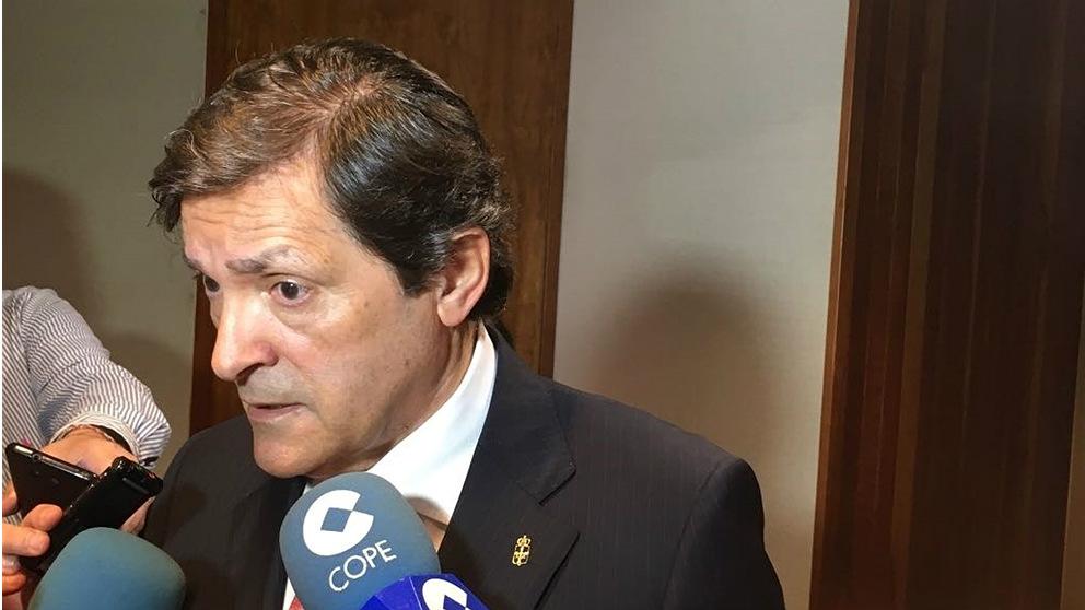 Javier Fernández, presidente del Principado de Asturias. (EP)