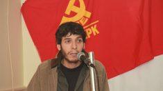Jon Hernandez, portavoz de Elkarrekin Podemos, en un acto del Partido Comunista (Foto: Agrupación Donostia PCE-EPK)