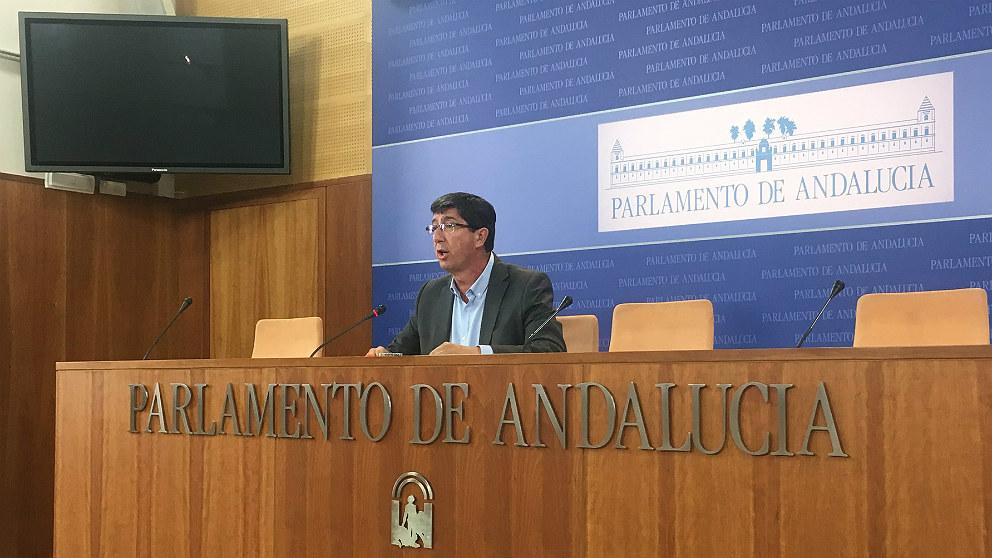Juan Marín, líder de C's en Andalucía. (EP)