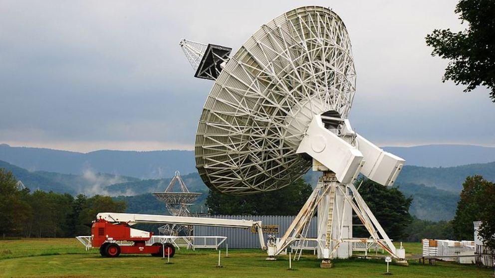 La sorprendente historia del telescopio de Green Bank