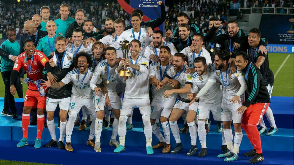 El Real Madrid en el Mundial de Clubes 2018. (Getty)