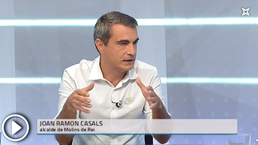 El alcalde de Molins de Rey, Joan Ramon Casals, aboga por «cerrar las fronteras con España»